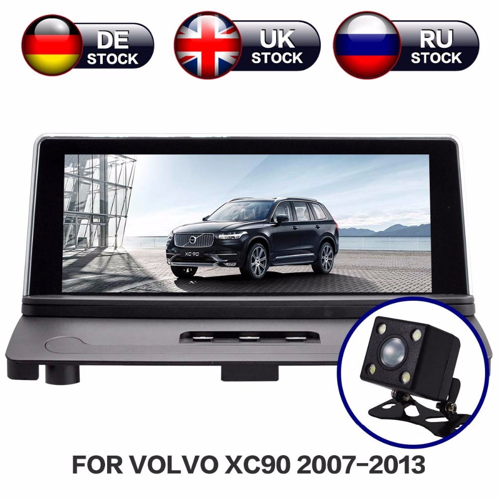 Android 7.1 RAM 2G Radio écran voiture stéréo GPS Navigation Headunit multimédia pour Volvo XC90 2007-2013 carte gratuite et caméra