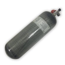 AC10911 Paintbal PCP Use Tank 9L CE Carbon Fiber 4500psi Gas Cylinder SCUBA Tank For Airforce Condor M18*1.5 Pcp  Acecare