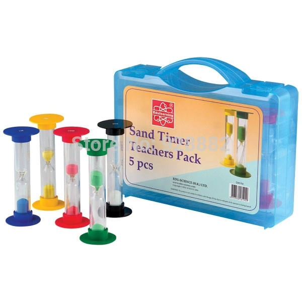 edu science educational gm194 toys teacher s timer set packed in a