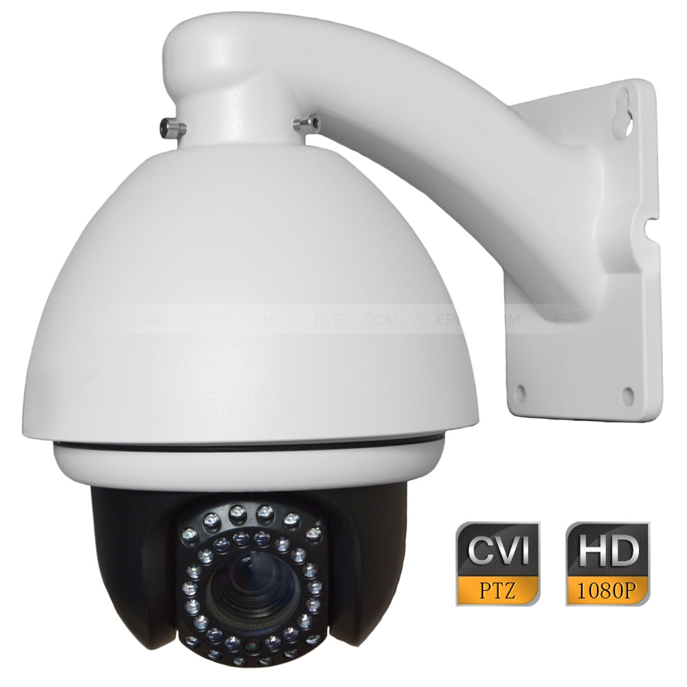 4 2MP 1080P Security HD CVI High Speed IR Indoor Dome PTZ Camera 10x Optical Zoom