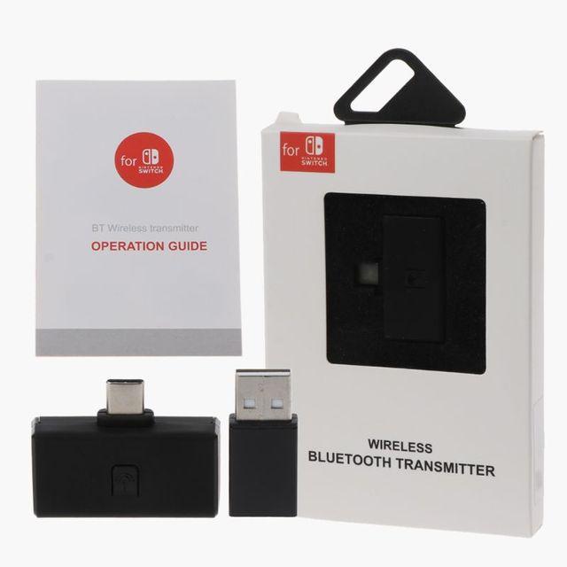 무선 블루투스 오디오 헤드셋 수신 어댑터 닌텐도 스위치 ns ps4 송신기 트랜시버 헤드셋 유형 c 수신기