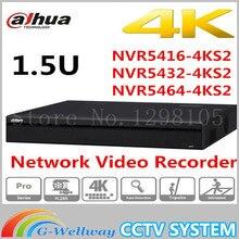 Оригинал DaHua 16/32/64 Канала U 4 К Сетевой Видеорегистратор NVR5416-4KS2 NVR5432-4KS2 NVR5464-4KS2, бесплатная Доставка.