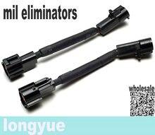 longyue 2pcs/unit 1996-04 F ORD MUSTANG SVE PLUG-IN MIL ELIMINATORS / O2 CHEEATER (O2 SENSOR SIMULATORS) 10cm wire