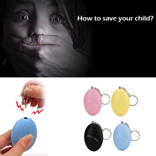 120db Outdoor Portable Egg Shape Self Defense Alarm Girl Women Child Security Protect Alert Personal Safety Scream Loud Alarm