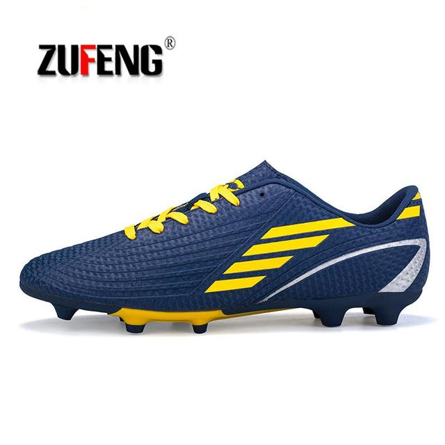 Men Soccer Shoes Sport Ronaldo Breathable Women Spikes Professional Boys  Kids Superfly Cleats CR7 TF AG FG Football Sneakers cdbdfce217