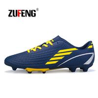 Men Soccer Shoes Sport Ronaldo Breathable Women Spikes Professional Boys Kids Superfly Cleats CR7 TF AG FG Football Sneakers
