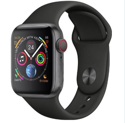 IWO8 IWO 8 Smartwatch 44mm boîtier montre série 4 pour Xiaomi Samsung avec rappel de message d'appel compatible pour iphone 6 7 8 X Andro