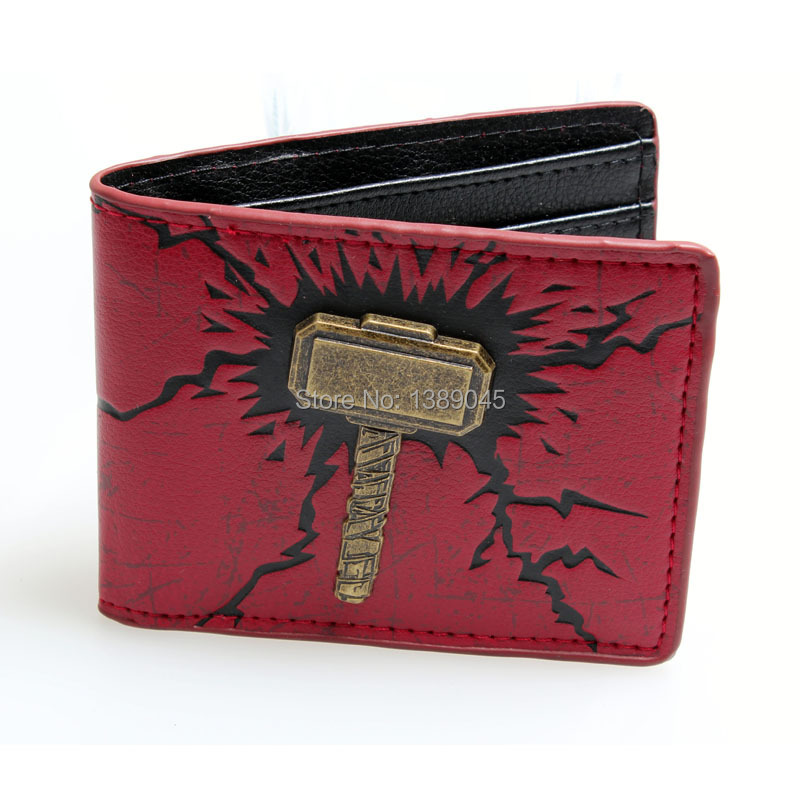 Thor animated cartoon wallet young students personality wallet Boys and girls fashion wallet marvel DFT-1038 point systems migration policy and international students flow