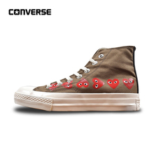 34f805866e54 Converse CDG X Chuck Taylor 1970s HiOX 18SS Skateboarding Shoes All Star  High-Top Authentic