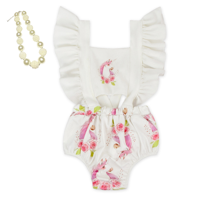 206fef231 wholesale 2018 new design Baby Girl Christmas Romper Pretty ...