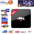 1 Año Europa IPTV Con H96 Pro Android 6.0 Tv Box Amlogic S912 2G/16G Smart Tv Box Wifi HDMI Inteligente IPTV Árabe Italia Francés caja