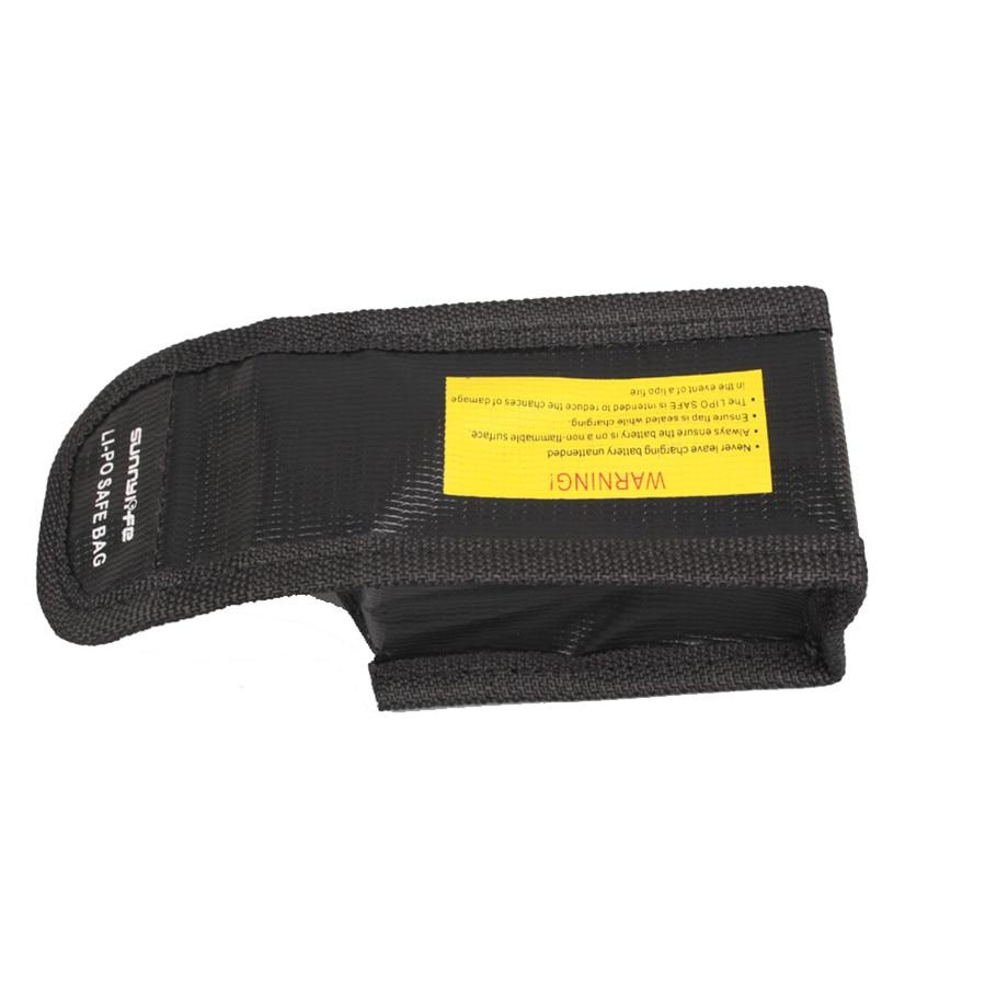 DJI SPARK Drone Lipo Battery Case Explosion-proof Safe Storage Bag Fireproof Protective Box Heat Resistance Radiation Pocket-4