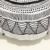NEW Black Cotton Dots Rodada Double Side Geomatric Padrões Retro Estilo F Almofadas Do Sofá Moderno Travesseiro Casa Decorativo Adereços 1 pcs
