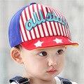 2016 primavera verano nuevos niños y niñas gorro de all star carta bordado gorra de béisbol del bebé niños capó tapa sombrero para el sol al por mayor