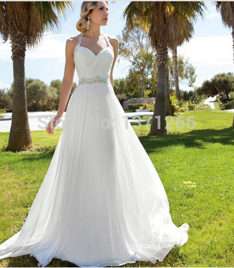 Halter Beach Wedding Dresses J0201 China Sexy Beach Wedding Dress