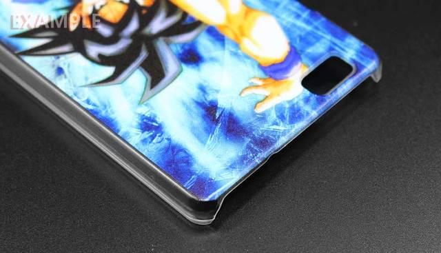 Dragon Ball Z Goku Clear Case Shell for Huawei