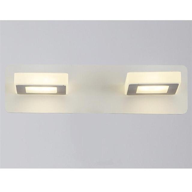 10w Bathroom Light Fixtures Led Acrylic Waterproof Bath Wall Sconces
