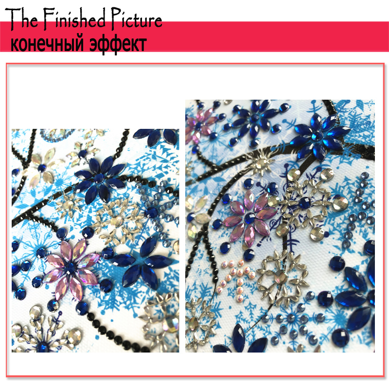 RUBOS DIY 5D Diamond Embroidery Colorful Tree Butterfly Bead Diamond Painting Cross Stitch Pearl Crystal Sale Hobby Gift Decor (33)