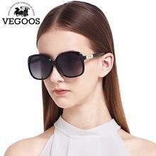 478c35c338b1e VEGOOS Novos Óculos Polarizados Óculos De Sol Das Mulheres Óculos de Sol  Designer de Moda Marca Rodada Rosto Redondo Estilo Big .