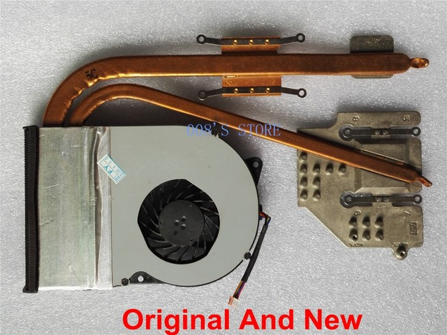 100% Original Laptop CPU Cooler Fan For With Heatsink Pad For ASUS N53 N53JN N53JQ N53JF N53JG N53JL N53J N53SV 53TA N53T 4 Pin