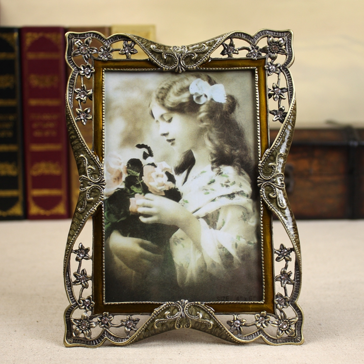 Vintage Continental cadre Photo balançoire table cadre Photo cadre Photo mur peut être monté ornements décorations pour la maison