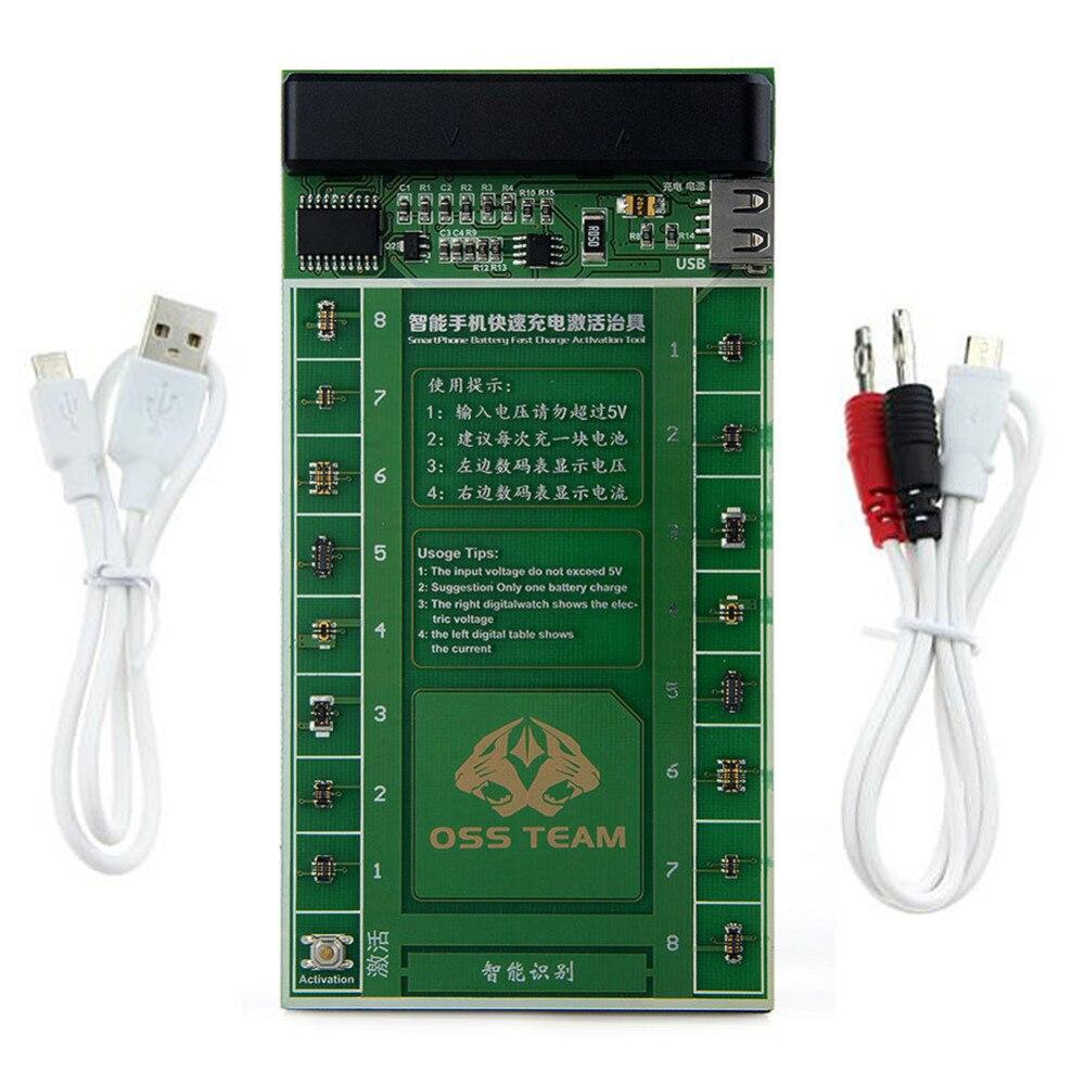 2 dans 1 Téléphone Batterie Charge Rapide Activation Plaque Du Conseil pour  VIVO Huawei Samsung xiaomi Charge USB Câble Gabarit Circuit Test ff3906e5e76
