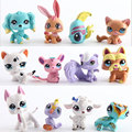 12Pcs/bag LPS Toy bag Little Pet Shop Action Figures Toys Littlest Animal Cat Dog patrulla canina Action Figures Kids toys Gift