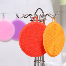 1PCS Multifunction Silicone Cleaning Bowl Potato Pot Scouring Pads Durable Cleaniing Brush For Kitchen Tools
