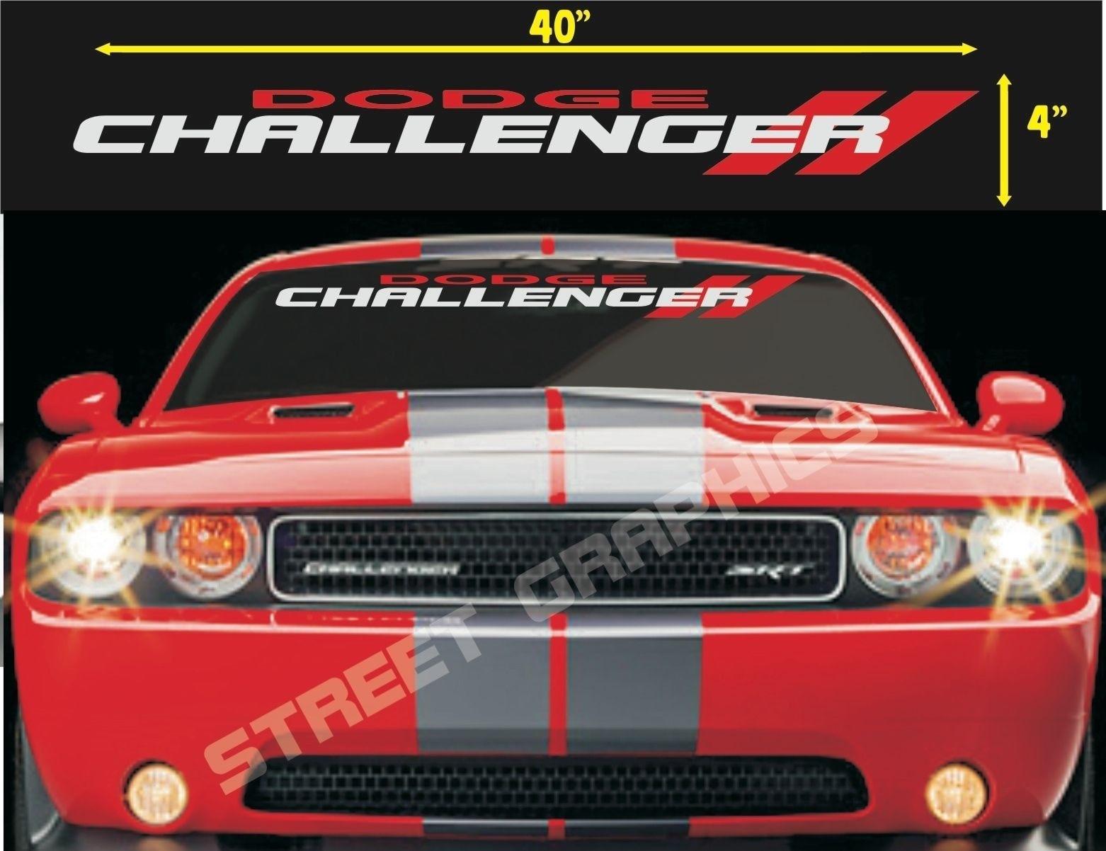 Dodge magnum windshield vinyl banner decal sticker