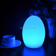 free shipping LED Egg bar table lamp,Dining Room Rechargeabl