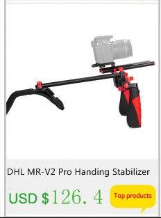 mini handheld câmera estabilizador dslr filmadora vídeo steadicam melhor do que s60