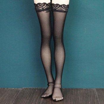 Black Long Stockings Socks Sexy For 1/3 24 60CM 1/4 17 44cm Tall BJD doll  SD MSD DK DZ AOD DD Doll use free shipping 1 3 zak bjd sd doll makeup doll free