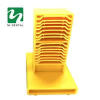 1 PC Dental Lab Dentist Impression Tray Plaster Holder Stand Collection Trays Able To Hold 12 pcs Trays Free Shipping
