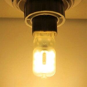 10 шт. Dimmable G9 4W 300-400 ЛМ светодиодный двухконтактный светильник 2835SMD теплый белый, холодный белый натуральный белый электрическая лампочка, пе...