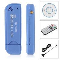 USB 2,0 программное обеспечение радио DVB-T RTL2832U + R820T2 SDR цифровой ТВ вставляемый приемник 7529