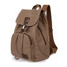 2016 vintage casual femmes daily sac à dos toile sac étudiant cartable rétro cordon sac voyage bagpack 003 #