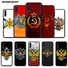 WEBBEDEPP Армения Флаг России герб мягкий чехол для телефона для samsung A50s A40s A30s A20s A10s A60 A70 M10 M20 M30 M40 чехол s