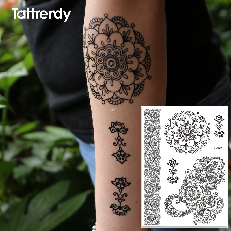 Aliexpress.com : Buy Flash Henna Tattoo Temprary Stickers