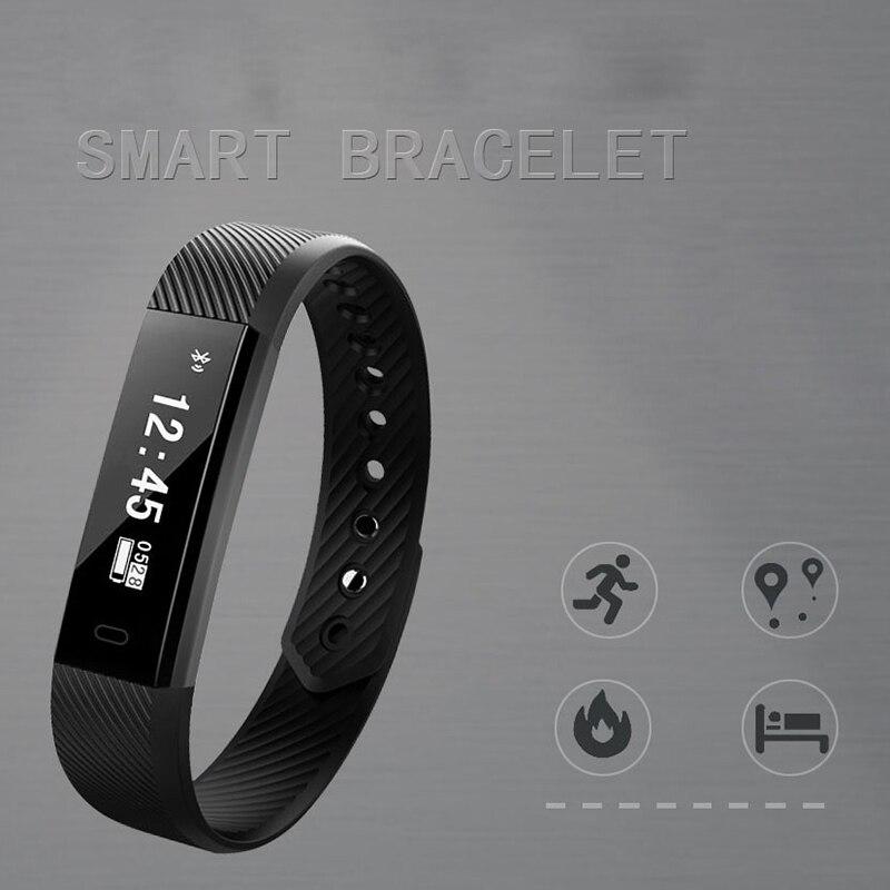 Smart Sports Bracelet Smart Wristband Men Women Fitness Tracker Heart Rate Pedometer Bracelet