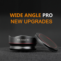 Aerb Professional 16 mm Pro Super 4K HD Wide Angle Cell PhoneLens For iphone Xiaomi Samsung Galaxy Android Phone camera Lens Kit