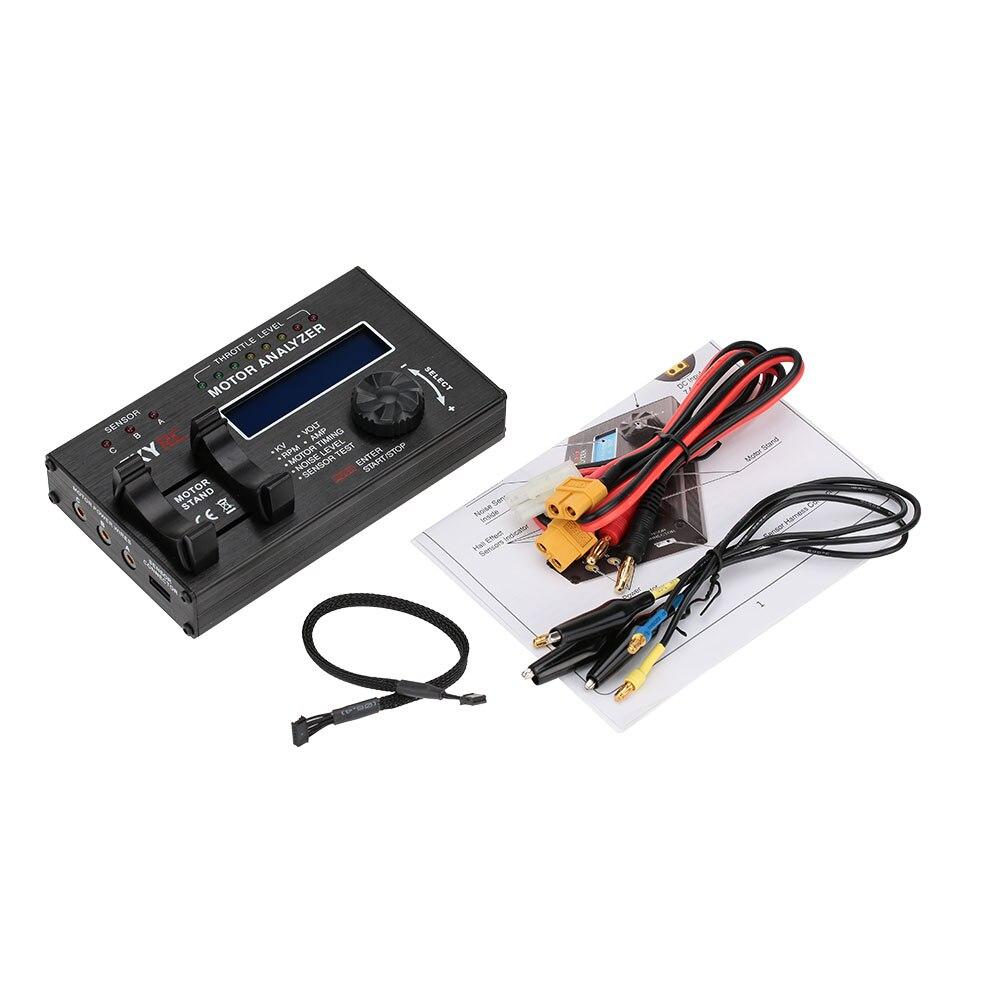 Analyseur de moteur sans brosse Skyrc KV tension BPM AMP testeur de chronométrage BMA-01 pour moteur de voiture RC avec écran d'affichage LCD