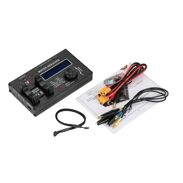 US $93 99 6% OFF|Skyrc Brushless Motor Analyzer KV Voltage BPM AMP Timing  Checker Tester BMA 01 For RC Car motor with LCD Display Screen -in Drone