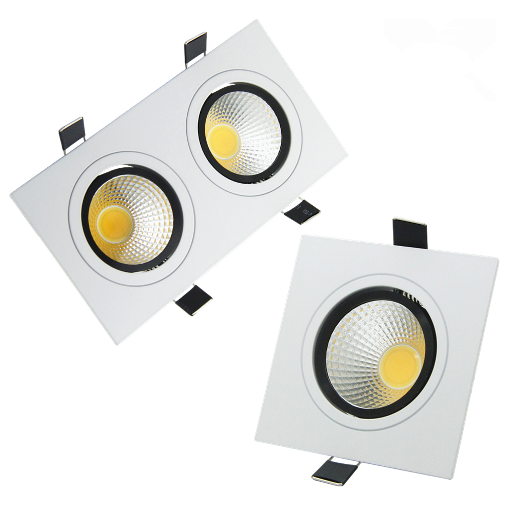 led recessed ceiling downlight square dimmable led led