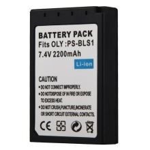 1pc 2200mAh PS BLS1 BLS 1 BLS1 Digital Battery for Olympus EP2 EPL1 EPL2 EP1 BLS5