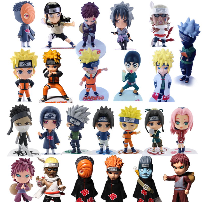 1pc/lot Naruto Figures 24 Styles Anime Itachi/Sasuke/Pein/Neji/Gaara Action Figure Toys PVC Collections 12cm zys48 s dh48s s ac 220v repeat cycle dpdt time delay relay timer counter with socket base 220vac