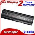 7800 мА*ч 9-элементный Новые Батареи для портативных компьютеров HP Pavilion G4 G6 G7 CQ42 G42 CQ43 CQ32 G32 DV6 DM4 430 батареи 593553-001 MU06
