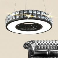 Modern Luxury Crystal LED Ceiling Lighting Round Bedroom Lights Living Room Lighting Dining Room Lights