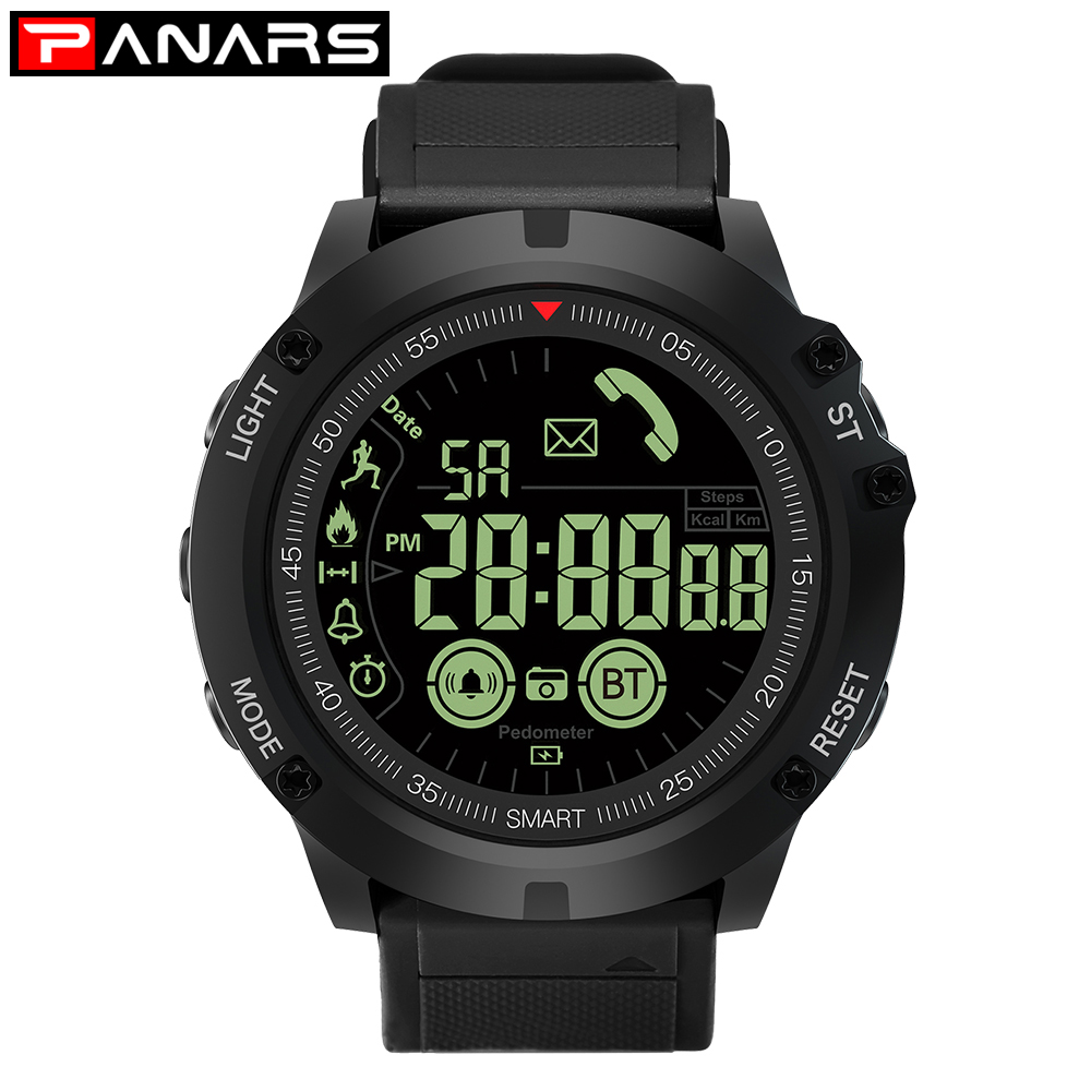 $29.94 | PANARS Men Sport SmartWatch Bluetooth Waterproof IP68 Support Call And SMS reminder Smart Watch For Android And Iphone