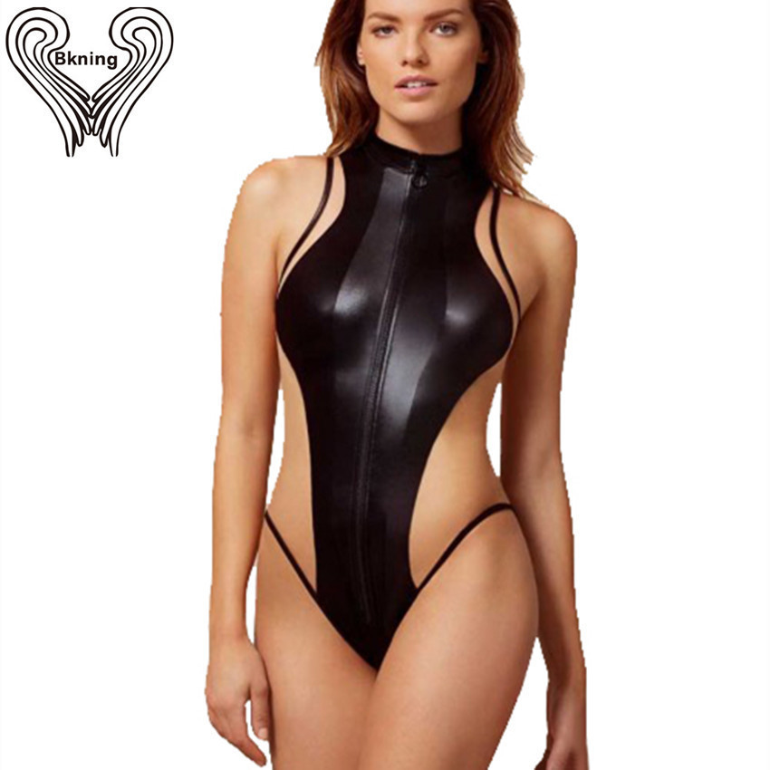Sexy Mesh Swimwear One Piece Swimsuit For Women Mesh Bodysuit High Cut One-Piece Swimming Suit High Neck Push Up Swim Suits qi dian sexy plunging neck flouncing high cut push up monokini bathing swim suit for women thong swimwear one piece swimsuit ql0
