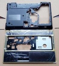 100% Brand NEW Lenovo G570 G575 Нижняя Крышка Случая & Упор Для Рук Верхний Регистр с «HDMI» Combo